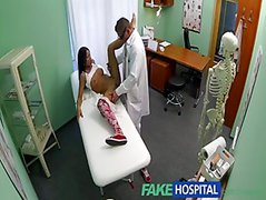 Young Teen Girl Not On Birth Control Bends Over For Doctors Creampie