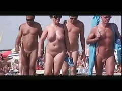 Nudes Walking On Beach BVR