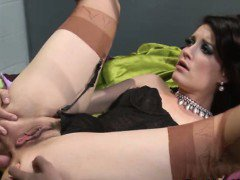 Classy brunette assfucked by the riddler