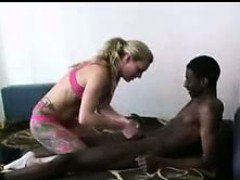 blonde gf and her black bf