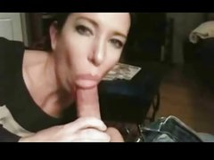 Milf Blowjob Cock And Cum Swalow