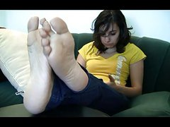 Giselle Candid Stinky Soles Pt.9