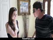 TeenPies - Elektra Rose Gets Filled