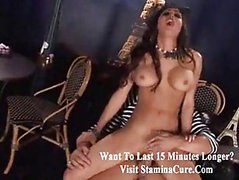 Hottie Latina fucked at cafe