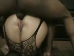 Good girl takes a big dick up her ass