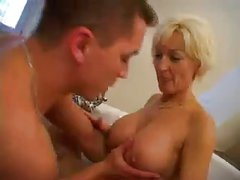 Stunning Gran Fucked by Young Cock