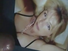 Cum on face Wifey and her big boobs compilation