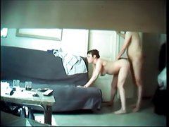 Cheating wife on real hidden cam