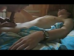 Young teen Couple Making Homemade Sex Tape