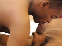 Gay african twinks barebacking close up