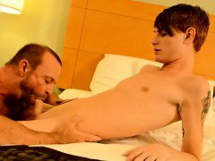 Amazing gay scene Twink rent stud Preston gets an thick smas