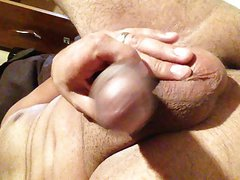 Subtitled CFNM bottomless Japanese oil massage handjob