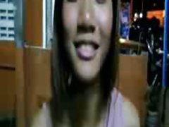 ladyboy jerk it in public by loyalsock