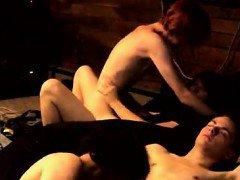 Amazing gay scene Trace Van de Kamp and Erik Tribold have a