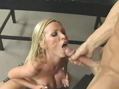 Blondes Cumshot Compilation Part 2