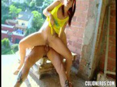 VIDEO FLMLDLR LEYLA BLACK CLNRS Sexo En El Aire