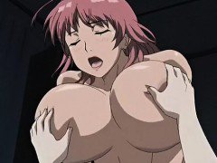 Incredible romance anime clip with uncensored big tits,