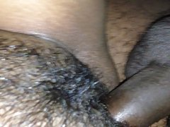 Hard fucking the pussy and cum inside