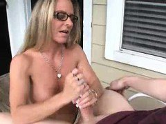 Horny Step-mom\'s Got Something Special For Him