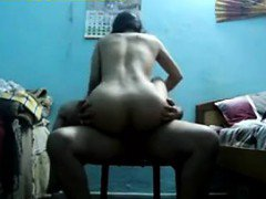 Indian Mother With A Great Ass Rides Dick