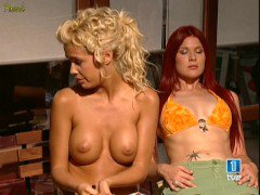 Lucia Lapiedra Topless in TV