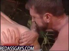 Two latins in hot bareback raw action