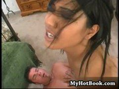 Cute Asian Lyla Lei has been lusting after dick ba