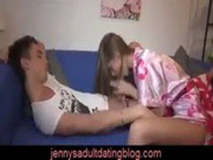 Teen Couple Have A Fun Fuck In The Afternoon