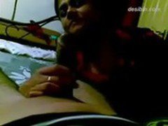 indian punjabi aunty charu gives blowjob