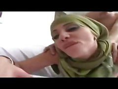 Hijab Gorgeous Arab First Porno