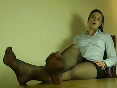 Sexy Nylon Feet and Legs