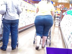 Amazing Wide Hips Juicy Ass Amazon White BBW.