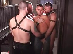 gangbang in bar