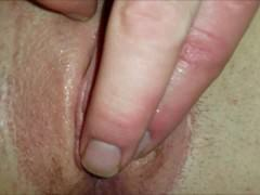 Delicious Teen Pussy Gets Fingered Closeup