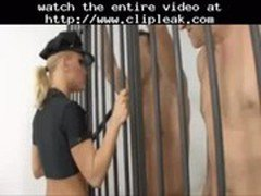 Britney Aka Janny As A Hot Female Cop Being Assfucked By Group