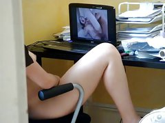 gm masturbating watching porn