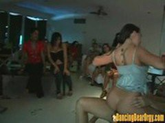 Babes on Vacation Party with Strippers - DancingBearOrgy.com