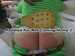 Paddled For Not Coming Home 2 - Preview