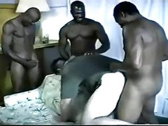 Twink sex One by one, Jeremiah, Riley & Mike all join in, masturbating