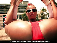 TheRealWorkout - Hot Ass Kelsi Monroe Gets Fucked Hard