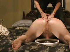 punishing wife and milking cock in therapy