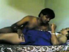 Indian Aunty And Her Lover Having Sex