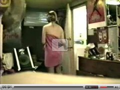 Hidden cam - teen girl dressing