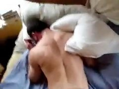 Dad fuck his horny stepson