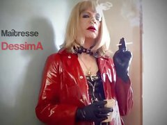 Mistress DessimA Smoking 120 In PVC Mack