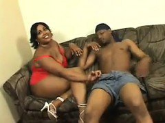 Big Black Woman Wanting Big Black Cock