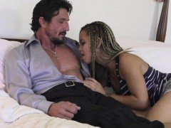 Ashley Luvbug  seduced her stepdad