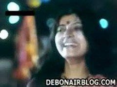 Hot Bengali actress Debashree Roy making love in the movie 36 Chowringhee  Lane