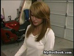 Charmane Star is a cute and demure Asian who seems