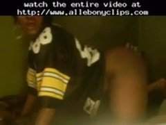 Uncle Jeb - Steeler Fan!...  black ebony cumshots ebony swallow interracial african ghetto bbc